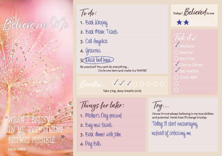 Believe-Planner-Sample