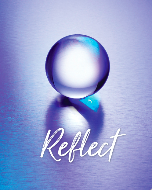 Reflect Journal Front Cover